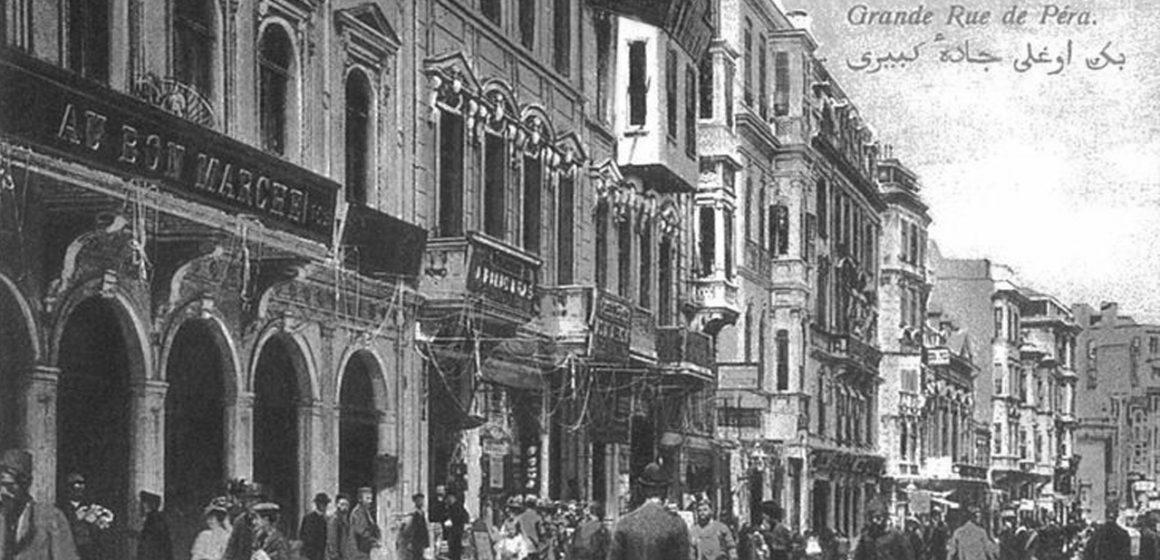 19. Yüzyıl İstanbul'unda Pera ve Eğlence Kültürü